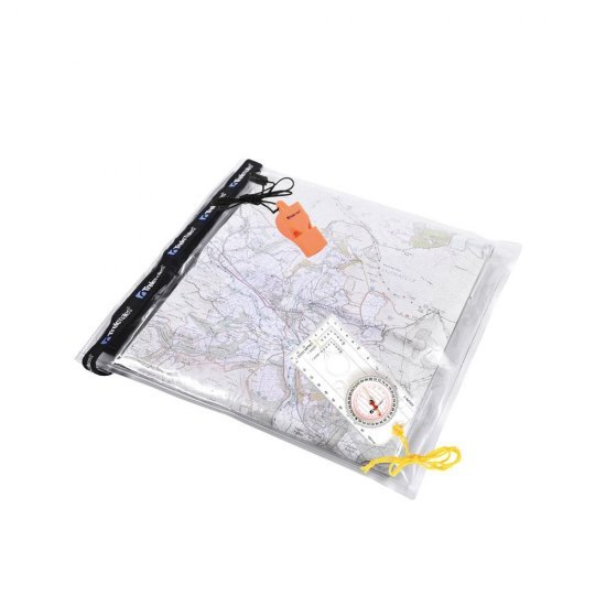Trekmates Dry Map Case, Compass & Whistle Set